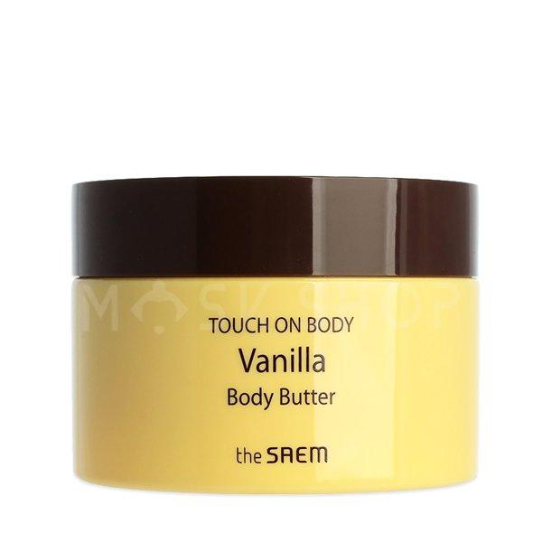 Крем-масло для тела с экстрактом ванили The Saem Touch On Body Vanilla Body Butter фото