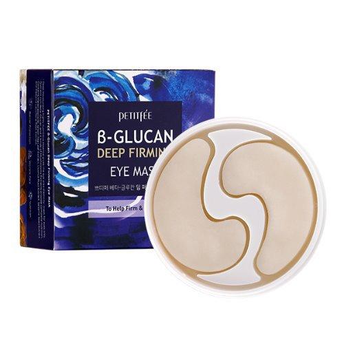 Купить Укрепляющие тканевые патчи с бета-глюканом Petitfee B-Glucan Deep Firming Eye Mask