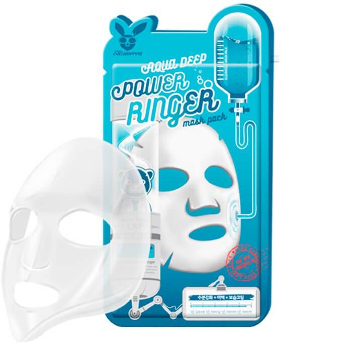 Купить Увлажняющая тканевая маска Elizavecca Power Ringer Mask Pack Aqua Deep