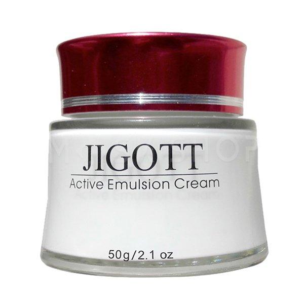 Увлажняющий крем-эмульсия Jigott Active Emulsion Cream фото