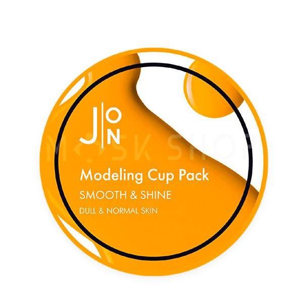 Альгинатная маска для сияния кожи J:ON Modeling Pack Smooth Shine 18 г фото