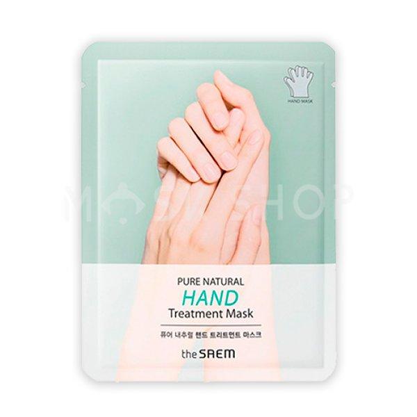 Маска для рук The Saem Pure Natural Hand Treatment Mask фото
