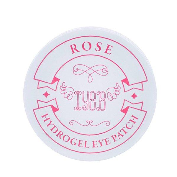 Гидрогелевые патчи с экстрактом розы IYOUB Hydrogel Eye Patch Rose фото