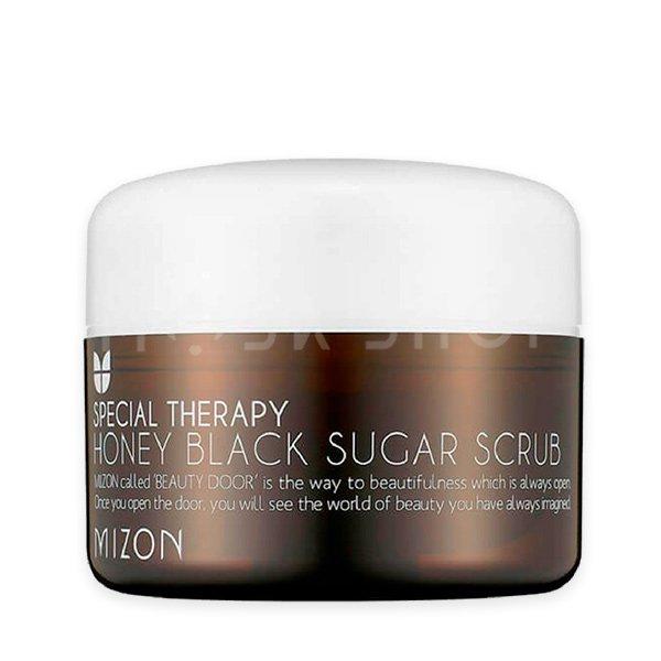 Скраб с черным сахаром Mizon Honey Black Sugar Scrub фото