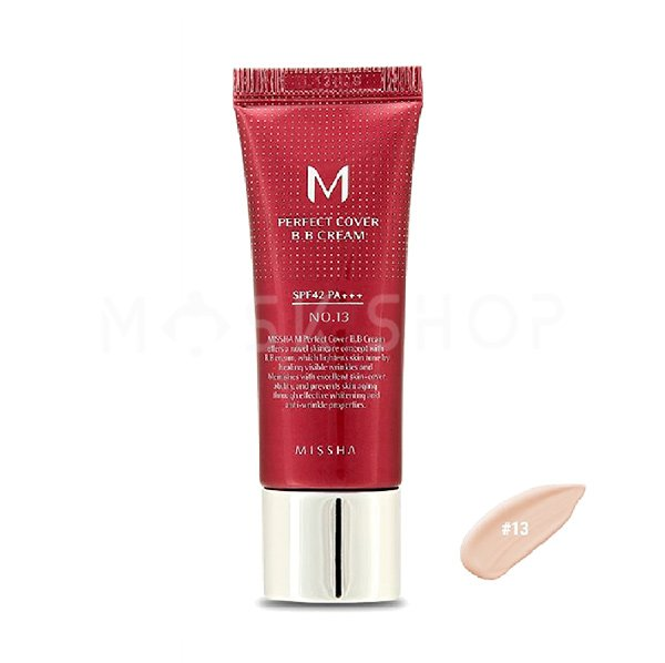 Купить BB крем Missha M Perfect Cover BB Cream № 13, 20 мл