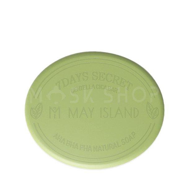 Мыло для проблемной кожи May Island 7 Days Secret Centella Cica Pore Cleansing Bar фото