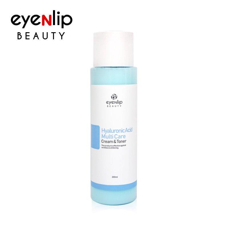 Тонер-крем с гиалуроновой кислотой Eyenlip Hyaluronic Multi Care Cream Toner фото