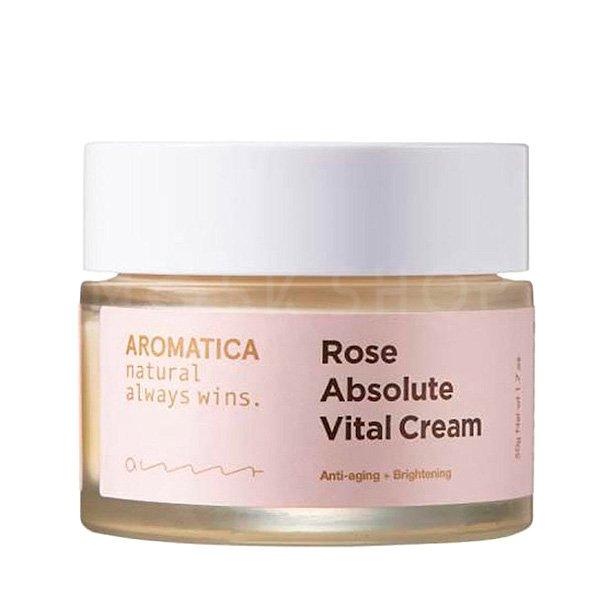 Органический антивозрастной крем Aromatica Rose Absolute Vital Cream фото
