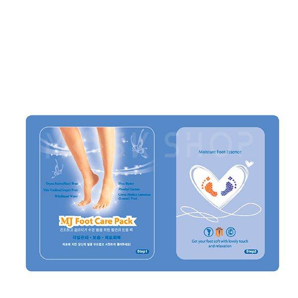 Маска для ног с гиалуроновой кислотой Mijin Foot Care Pack Moisture Foot Essence фото