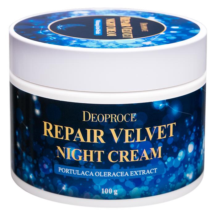 Ночной восстанавливающий крем Deoproce Repair Velvet Night Cream фото