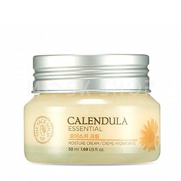 Купить Увлажняющий крем с календулой The Face Shop Calendula Essentials Moisture Cream