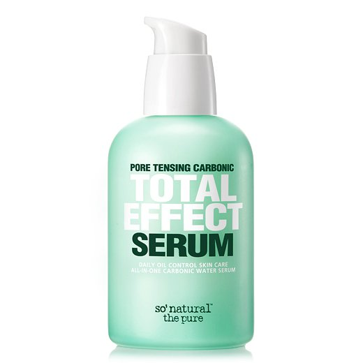 Купить Матирующая сыворотка для жирной кожи So Natural Pore Tensing Carbonic Total Effect Serum