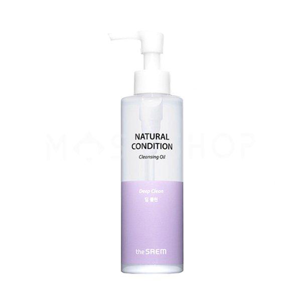 Купить Гидрофильное масло для жирной кожи The Saem Natural Condition Cleansing Oil Deep Clean