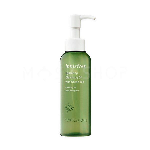 Увлажняющее гидрофильное масло Innisfree Green Tea Moisture Cleansing Oil фото