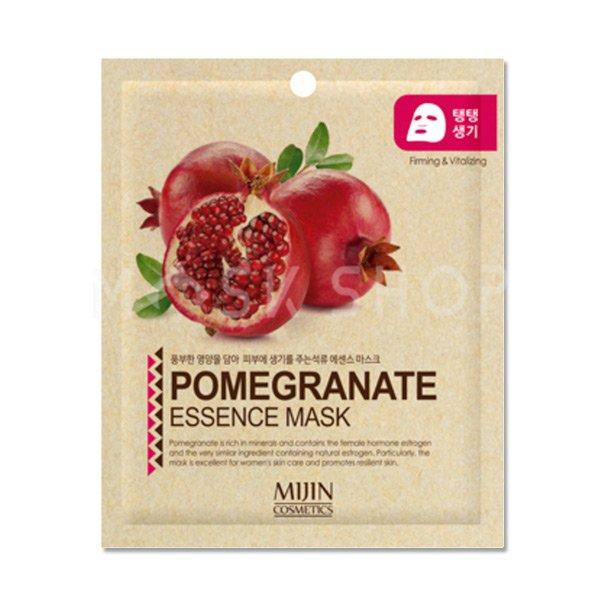 Тканевая маска с экстрактом граната Mijin Pomegranate Essence Mask фото