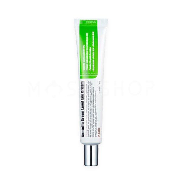 Подтягивающий крем для век с пептидами и центеллой PURITO Centella Green Level Eye Cream фото