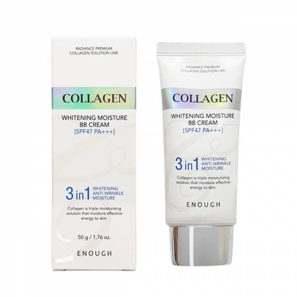 Купить ББ-крем с коллагеном Enough Collagen Whitening Moisture BB Cream SPF 47 PA+++