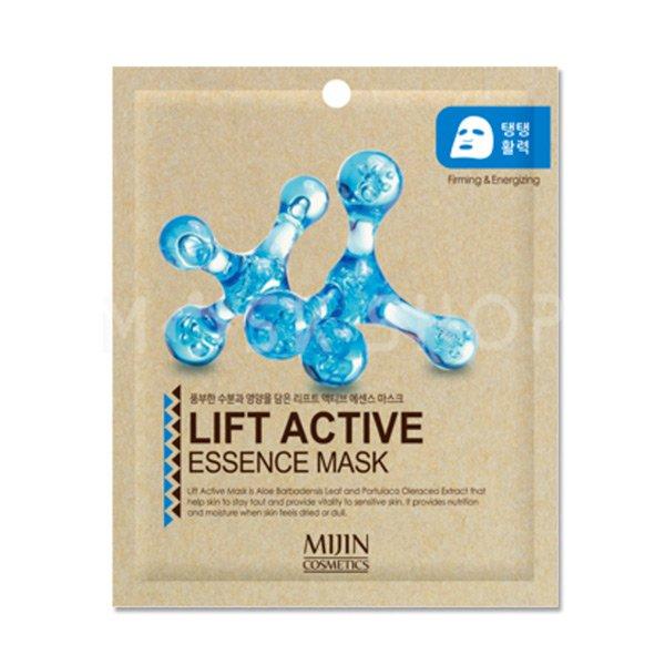 Тканевая маска с лифтинг эффектом Mijin Lift Active Essence Mask фото