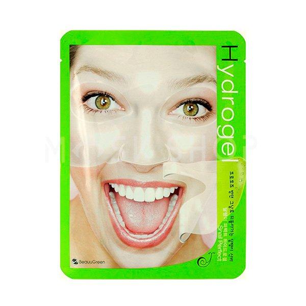 Купить Гидрогелевая маска с муцином улитки Beauugreen Snail Perfect Hydrogel Mask