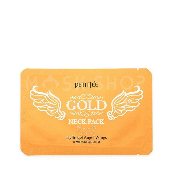 Гидрогелевые патчи для шеи Petitfee Gold Neck Pack фото