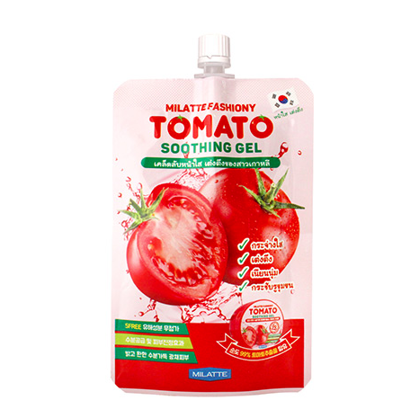 Купить Гель для лица и тела с томатом Milatte Fashiony Tomato Soothing Gel 50 мл