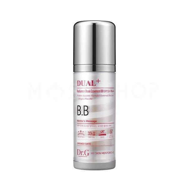 BB эссенция с тональным эффектом Dr.G Radiance Dual Essence BB SPF50+ PA+++ фото
