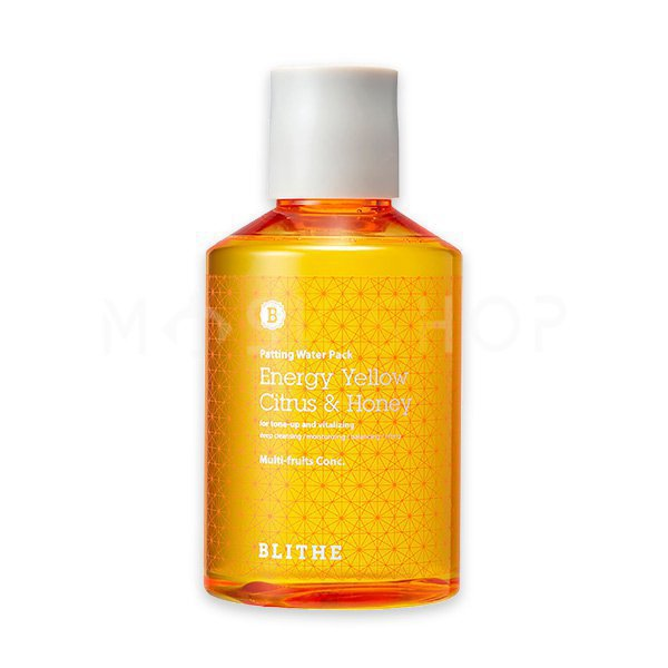 Сплэш-маска для сияния кожи Blithe Patting Water Pack Energy Yellow Citrus & Honey 150 мл фото