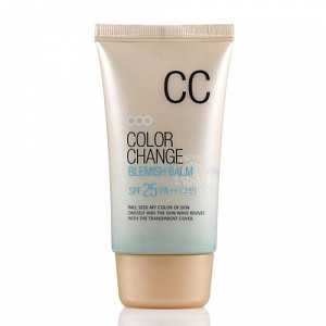 Матирующий CC-крем Welcos Color Change Blemish Balm SPF25 PA++