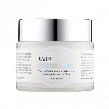Несмываемая маска с витамином E Dear, Klairs Freshly Juiced Vitamin E Mask