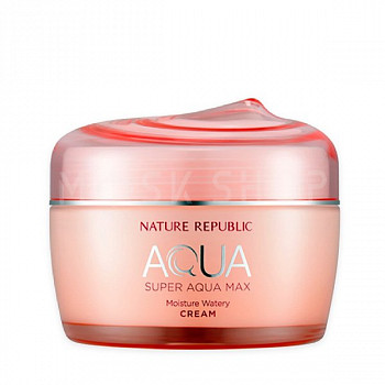 Крем для сухой кожи Nature Republic Super Aqua Max Moisture Watery Cream