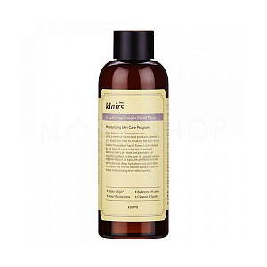 Тонер с бета-глюканом и гиалуроновой кислотой Dear, Klairs Supple Preparation Facial Toner