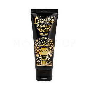 Очищающая золотая маска-пленка Elizavecca Milky Piggy Hell Pore Longolongo Gronique Gold Mask Pack