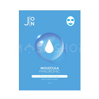 Тканевая маска с гиалуроновой кислотой J:ON Molecula Hyaluronic Daily Essence Mask
