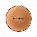 Компактная пудра The Saem Eco Soul Perfect Cover Pact 23 Natural Beige