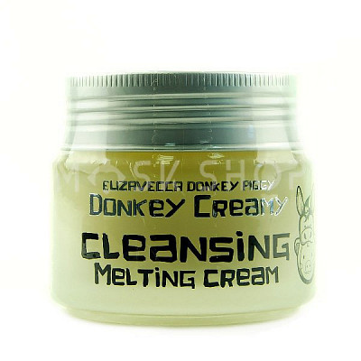 Очищающий крем Elizavecca Donkey Piggy Donkey Creamy Cleansing Melting Cream. Фото №2