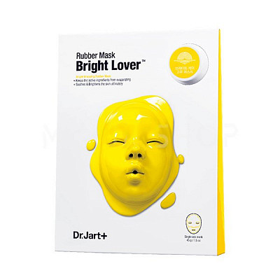Осветляющая альгинатная маска Dr. Jart+ Dermask Rubber Mask Bright Lover