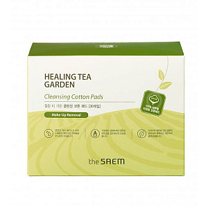 Очищающие диски The Saem Healing Tea Garden Cleansing Cotton Pads