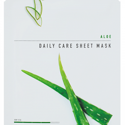 Тканевая маска с алоэ Eunyul Aloe Daily Care Sheet Mask