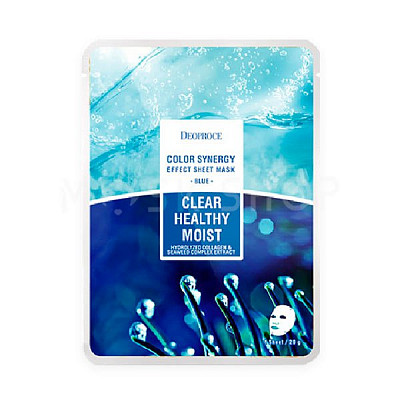 Тканевые маски Deoproce Color Synergy Effect Sheet Mask. Фото №10