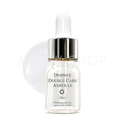 Антивозрастная сыворотка для лица Deoproce Double Care Ampoule Set Day Night. Фото №2