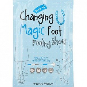 Пилинг для ног Tony Moly Changing Magic Foot Peeling Shoes