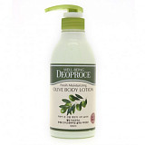 Deoproce Fresh Moisturing Olive Body Lotion
