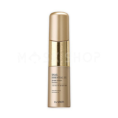 Антивозрастная эмульсия The Saem Snail Essential EX Wrinkle Solution Emulsion