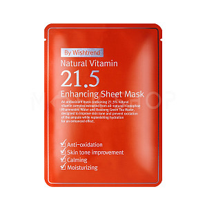 Тканевая маска By Wishtrend Natural Vitamin C 21.5% Enhancing Sheet Mask