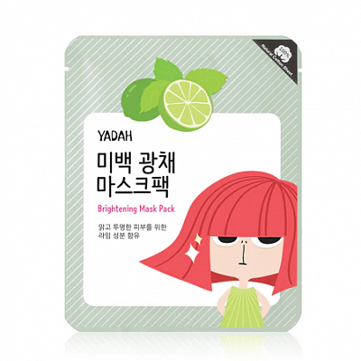 Осветляющая тканевая маска Yadah Brightening Mask Pack
