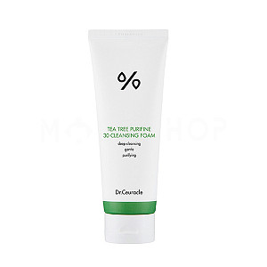 Пенка для умывания с экстрактом чайного дерева Dr. Ceuracle Tea Tree Purifine 30 Cleansing Foam